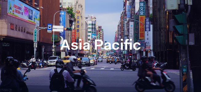Street in Asia