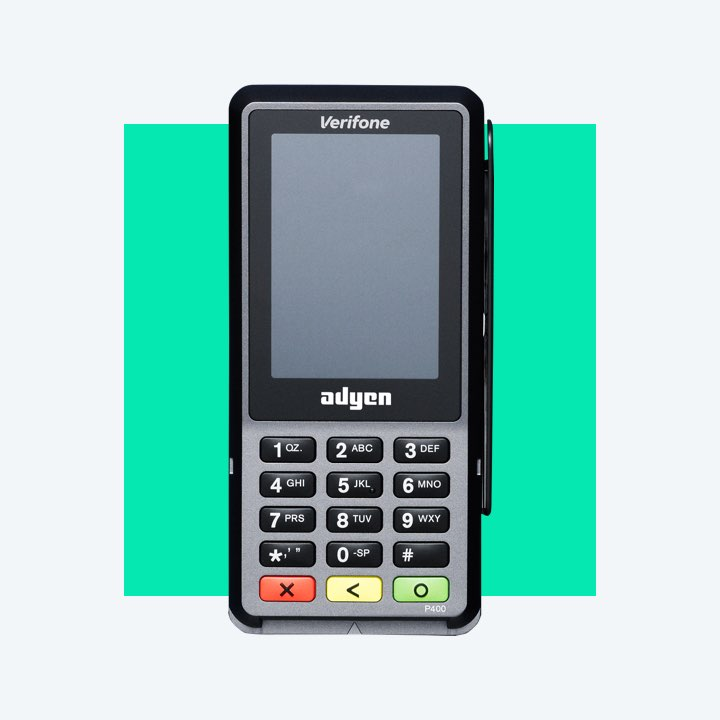 P400 point of sale terminal