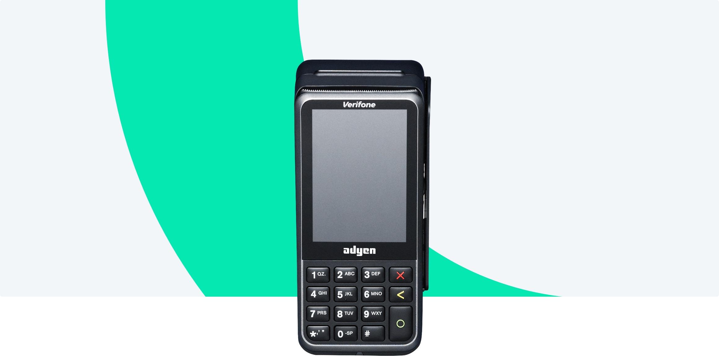 Adyen Portable Terminal Adyen