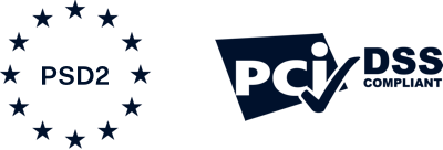 PSD2 and PCI DSS logos