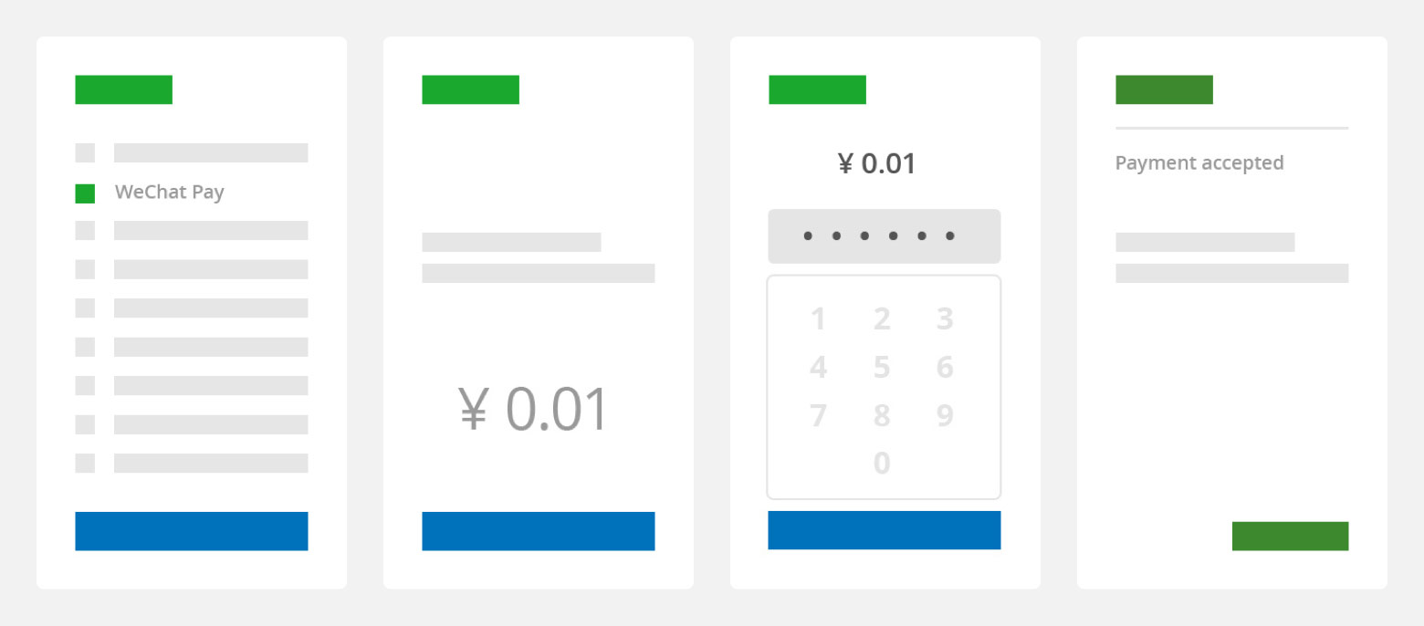 Adyen's WeChat Pay In-app setup