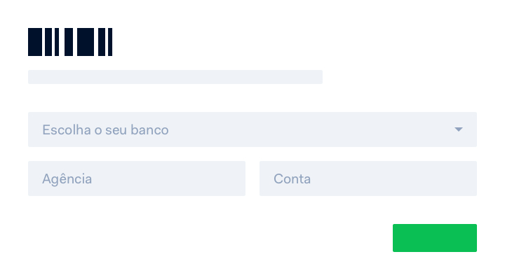 Pay with internet banking page on Boleto payment flow