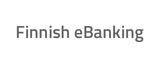 Finnish eBanking payment method logo
