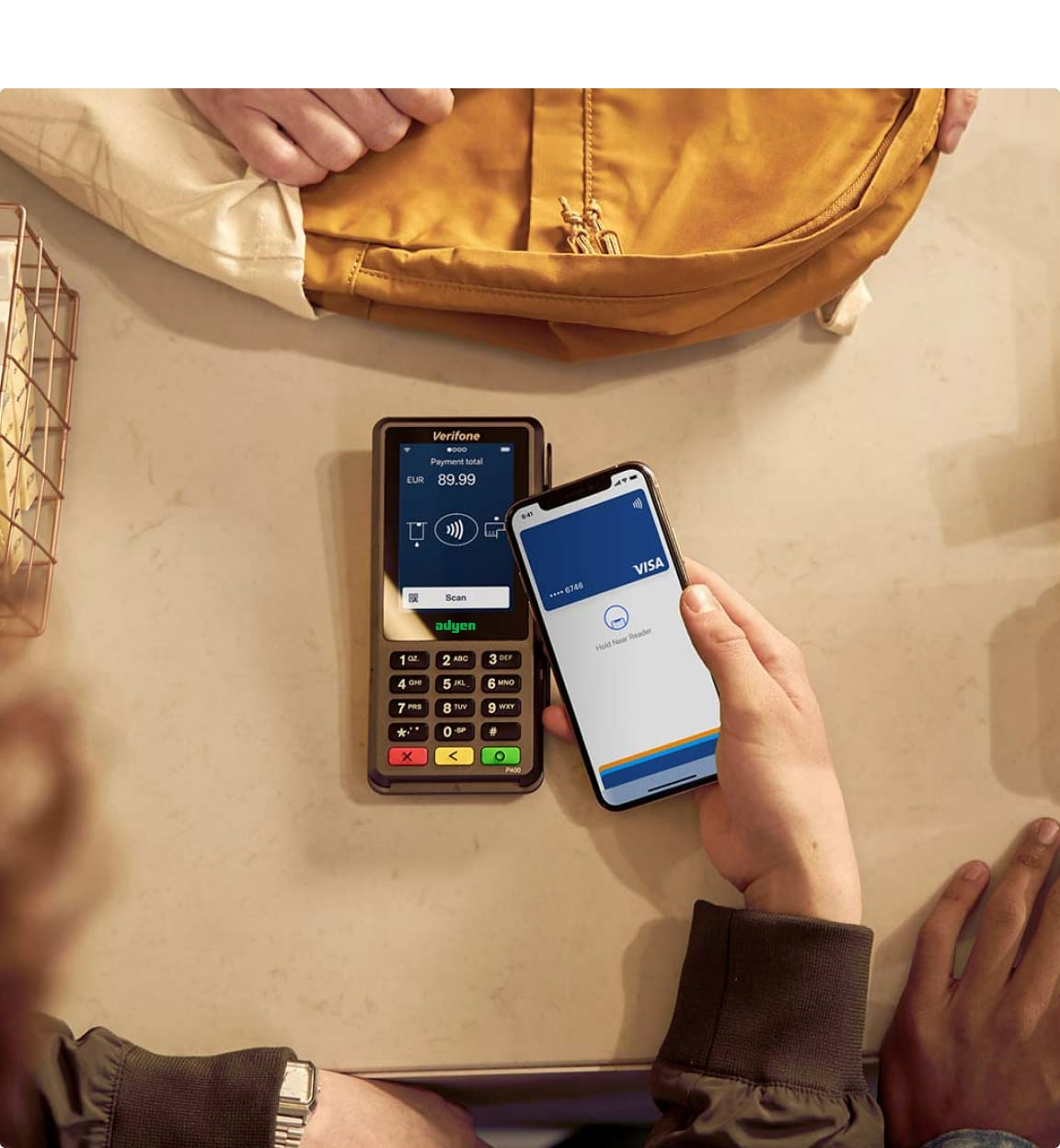 Point of sale payment terminal and digital wallet