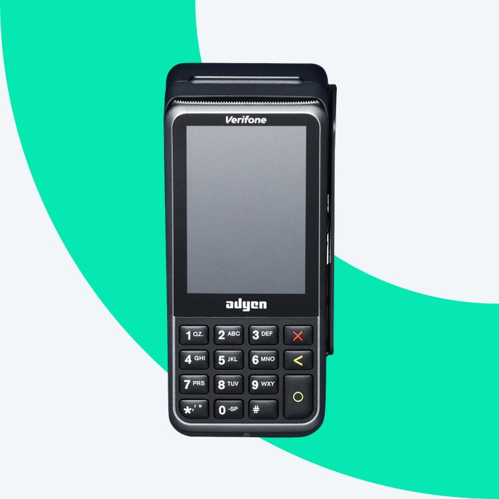 V400m point of sale terminal