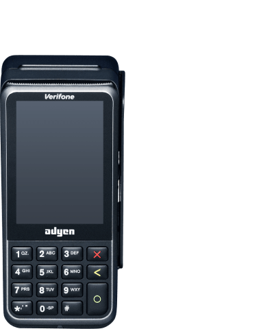 Verifone p400 plus